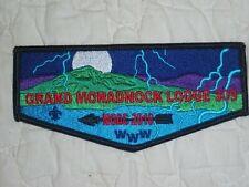 2018 NOAC Grand Monadnock Lodge 309 flap