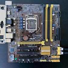 Asus H87M-Plus MicroATX uATX Motherboard Intel Socket H3 LGA 1150 w/ IO Plate 1D