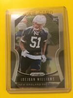 🔥🔥2019 PRIZM JOEJUAN WILLIAMS  RC ROOKIE Base #398 Patriots