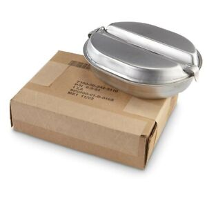 Used Mess Kit US Military Issue  - 10% of Purchase Goes To Local Food Bank!