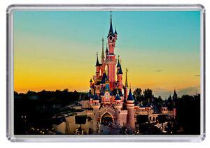 Euro Disney Paris Disneyland Fridge Magnet 02 Free Postage