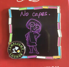 Disneyland Pin Lamplight Lounge Series #1 2020 Edna Mode No Capes! LE 2000