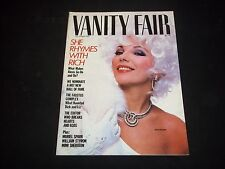 1984 DECEMBER VANITY FAIR FASHION MAGAZINE - JOAN COLLINS COVER - J 1199
