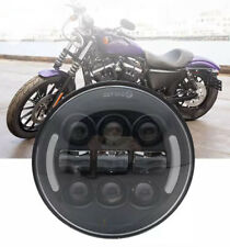 """5.75"""" LED Daymaker Headlight with Angle Eyes for Harley Davidson Motorcycles"""