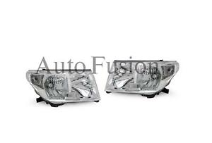 Headlights Pair For Toyota Landcruiser 200 Series UJZ200/VDJ200 (2007-2011)