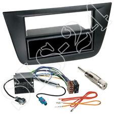Seat Altea Toledo Doppel-DIN Blende +Fach schwarz + Quadlock Adapter Antenne Set