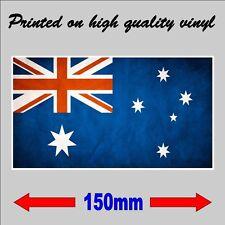 Australian Flag Car iPad Laptop Decal Australia Day Sticker 15cm