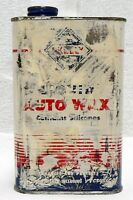 OLD SKELLY OIL CO. AUTO WAX TIN CAN