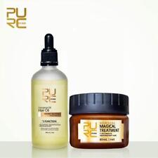 PURE 100% Natural Coconut Oil 100ml + Magical Treatment Mask Repair Damage Hair