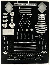 Foto Livio Fioroni - Dentaurum Pforzheim  Vintage silver print Tirage argentiq