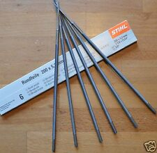 Pack of 6 STIHL 5.2mm Round Chainsaw File Files for 3/8 Chains 56057725206