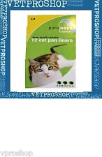 Van ness Pureness Cat Litter Pan Liners- Large 1 Case of 12 liners Model L2