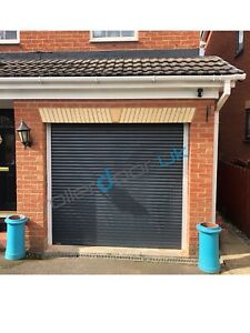 Anthracite 55mm Made To Measure Roller Garage Door - Other Colours Available