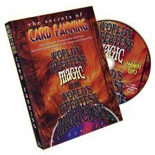 CARD FANNING MAGIC WORLD'S GREATEST MAGIC BY L&L PUBLISHING DVD - MAGIC TRICKS