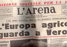 G1 L'ARENA - ANNO 101° - 12 MARZO 1967 - EDIZIONE SPECIALE PER LA FIERA AGRICOLA