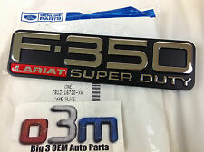 1999-2004 Ford F350 Super Duty Lariat RH or LH Fender Emblem OEM F81Z-16720-XA