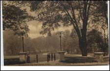 Poughkeepsie New York USA vintage postcard ~1920/30 Entrance to Eastman Park