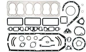 """Full Engine Gasket Set Late 1947-1951 Ford 226 """"H"""" 6cyl NEW"""