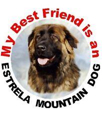 2 Estrela Mountain Dog Car Stickers By Starprint