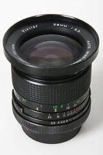 Vivitar Auto 28mm, f/2.5. Canon FD Mount