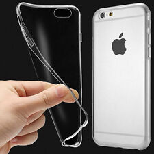 For APPLE IPHONE 5 6S Ultra Thin Slim 0.3mm Soft TPU Gel Silicone Case Cover