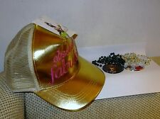 Absolutely Fabulous Movie Promo Hat/ Baseball Cap and Pair of Necklaces