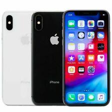 Teléfono inteligente 64GB 256GB Apple iPhone X-Desbloqueado móvil o AT&T T