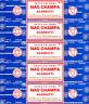 5 Boxes Satya Sai Baba Nag Champa Agarbatti Incense 40 Gram Each 200 Grams Total