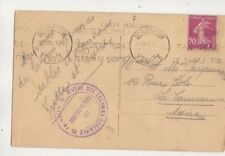 Les Sables D'Olonne Oeuvre Des Colonies Scolaires De Vacences 1935 Cachet  608b