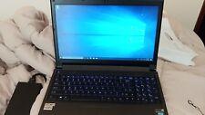 Sager NP8268 / Clevo P150SM-A Gaming Laptop 120GB SSD 1TB HDD 12GB RAM i7 860M