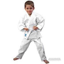 Pro Force 6 oz. Student Karate Gi Uniform, White, sz. 0
