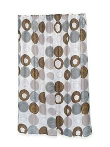 Carnation Home Fashions Madison Shower Curtain 84 in Long