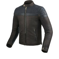 Rev'it Fargo Jacket Vented Brown Leather Motorcycle Jacket NEW