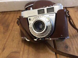 Vintage Kodak Retinette 1A Camera In Leather Case
