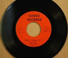 EARL KING **STREET PARADE (PT. 1 & 2)** New Orleans Soul 45 on KANSU 101
