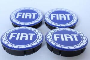4st x Silikon Nabenkappen Radkappe Alufelgen 55mm/50mm für FIAT
