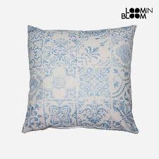 Cojín de color principal azul de 60 cm x 60 cm para el hogar