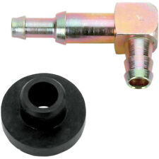 "Fuel Elbow 5/16"" - 90 Degree Tank Fitting Metal with Rubber Grommet 2105-1000"