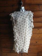 3.1 PHILLIP LIM Silk RUFFLE mini dress US4 /UK8