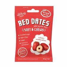 Abakus séchés dénoyautés Jujube Fruits (Rouge dates) | 12 x 30 g