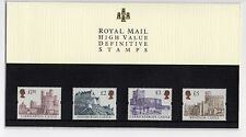 GB 1997 Castles £1.50 - £5 Definitive Presentation Pack No. 40 VGC stamps