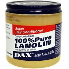 DAX Super Hair Conditoner 100% Pure Lanolin 7.5oz