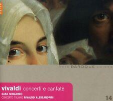 Sara Mingardo, A. Vivaldi - Concerti E Cantate [New CD]