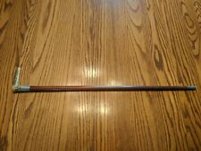 New listing Antique wood, sterling, and antler Cane Walking Stick