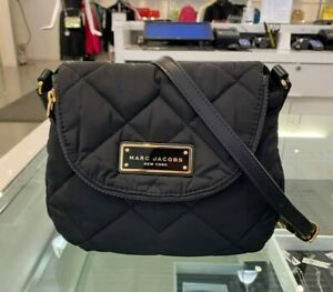 MARC JACOBS Quilted Nylon Mini Messenger Bag $180 NWT -M0011379