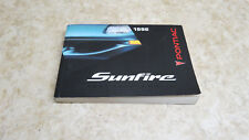 NOS OEM FACTORY 96 1996 Pontiac Sunfire owners manual L-217