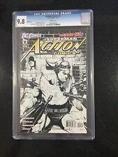 Action Comics # 2 Sketch / Cgc Universal 9.8 / December 2011 / Dc Comics