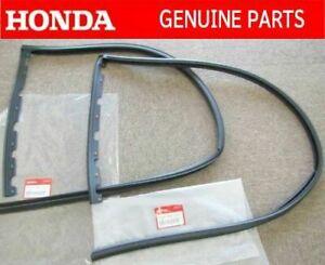 Genuine Honda Civic EK2 EK3 EK4 EK9 DOOR WINDOW SEAL RUBBER LEFT RIGHT SET