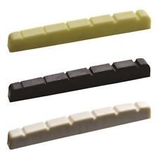 Stratocaster Telecaster Graphite Compound Nut Pre-cut & Slotted 42mm