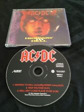 AC/DC HIGHWAY TO HELL CD - RARE COVER PROMO SAMPLE  ALBERT PRODUCTIONS AUSTRALIA